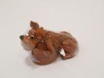 Сувенир - керамика, Собака на пне   № 20 - 165886