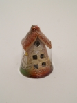 Сувенир - керамика, Большой колокольчик - домик № 16 - 165848