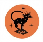 Suvenirs-magnets, keramika Riga 2-003