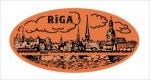 Suvenīrs-magnēts-keramika Rīga 2-010
