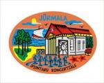 Suvenirs-magnets, keramika Jurmala 2-307