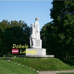 Suvenīrs-magnēts-Dobele 44(diam) metāls
