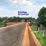 Suvenirs-magnets-Kuldiga 48x48 vinil
