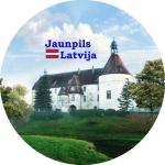 Suvenirs-magnets-Jaunpils 58(diam) metals
