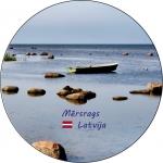 Suvenirs-magnets-Mersrags 70(diam) vinils