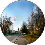 Suvenirs-magnets-Priekule 70(diam) vinils