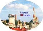 Suvenirs-magnets-Liepaja 70x45 metals