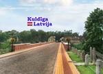 Suvenirs-magnets-Kuldiga 70x50 vinils PVC