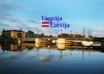 Suvenirs-magnets-Liepaja 70x50 vinils PVC
