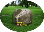 Suvenīrs-magnēts-Cīrava 80x57 vinils