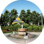 Suvenirs-magnets-Ventspils 58(diam) metals