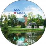 Suvenirs-magnets-Edole 56(diam) piek.-attaisamais