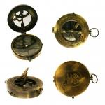 Saules pulkstenis kompass ar logo Baltron