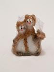 Сувенир - керамика, Кошка с мышкой № 52 - 166203